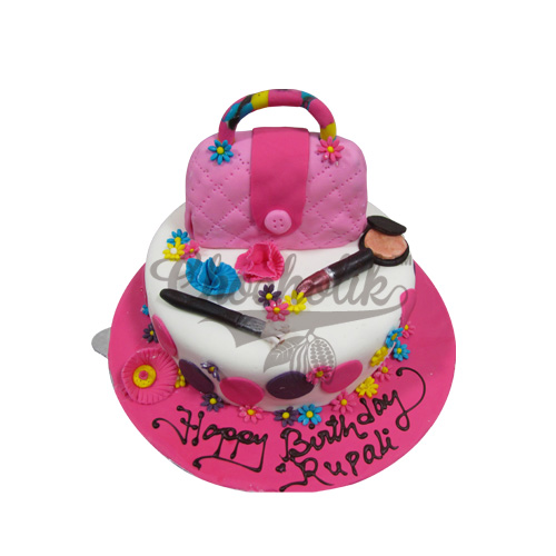 Girls Purse Cake