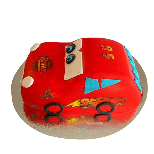 Red Sports Car Cake