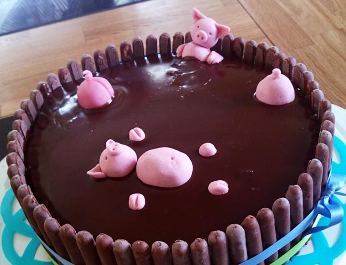 Mudbath cake