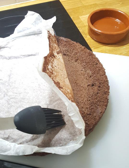 Tre lika - vanlig tårtbotten