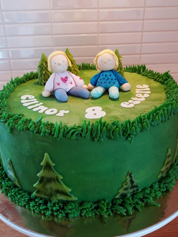 Girls cake - tjejtårta