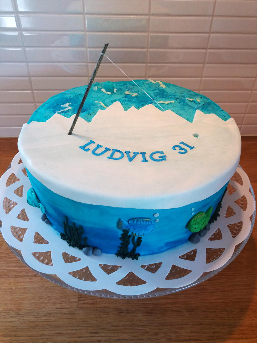 Fishing cake - fisketårta
