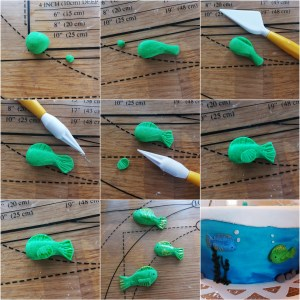 DIY: Fiskar i sockerpasta