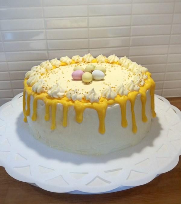Påskig drip-cake