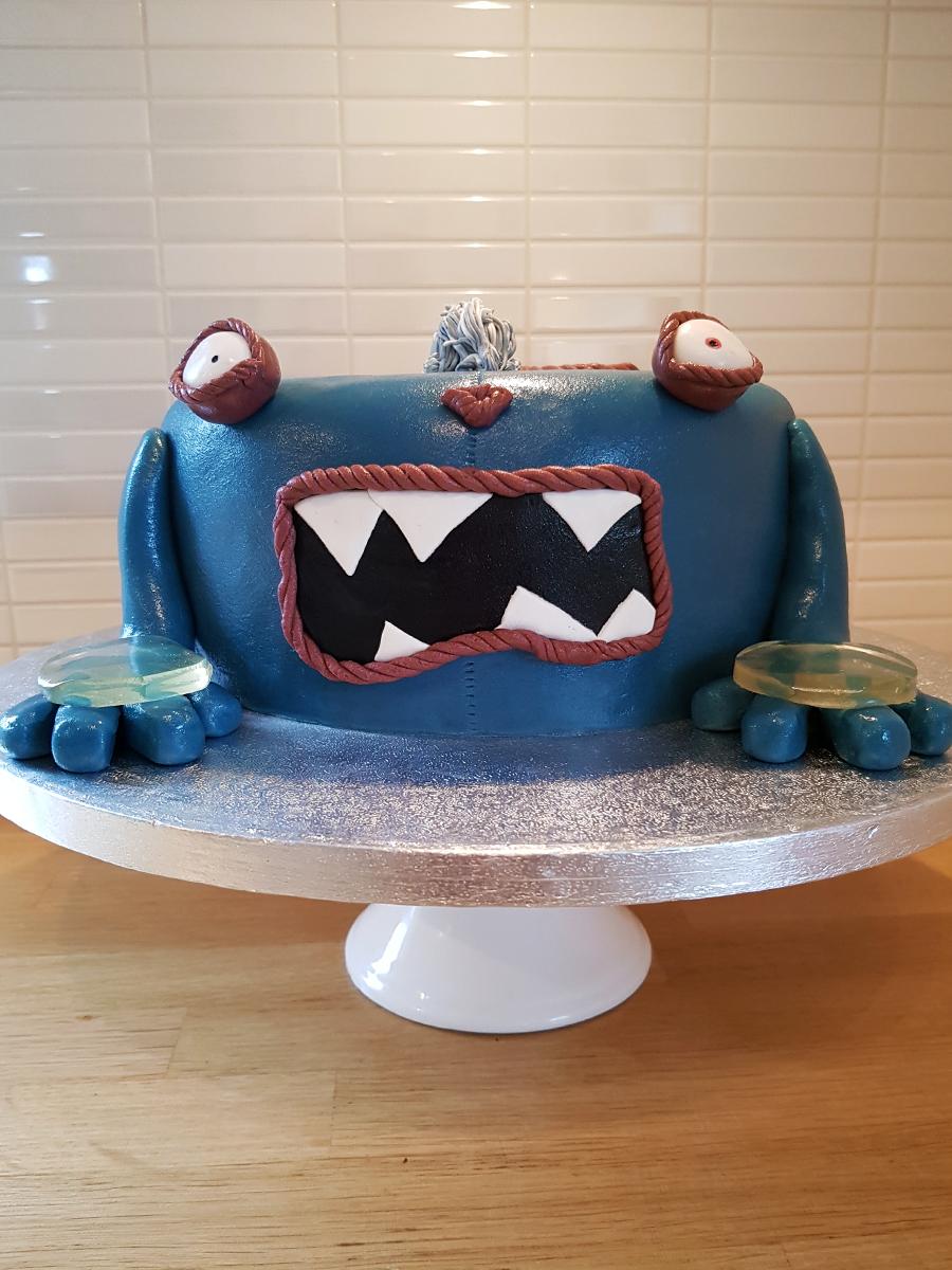 Suckers cake - suckerstårta