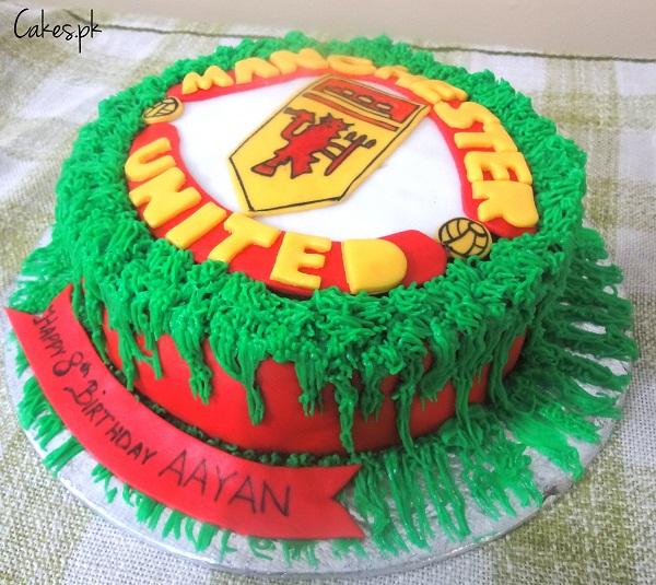 Manchester United Logo Cake Cakes