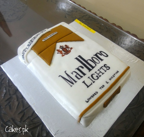 how to make a cigarette cake