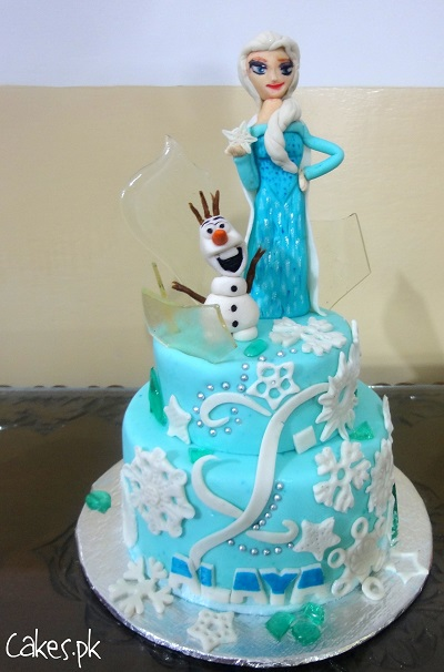 Shoprite Character Cakes : shoprite, character, cakes, Frozen, Tiered, Cakes.pk