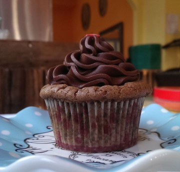 Mexican Chocolate Cupcake