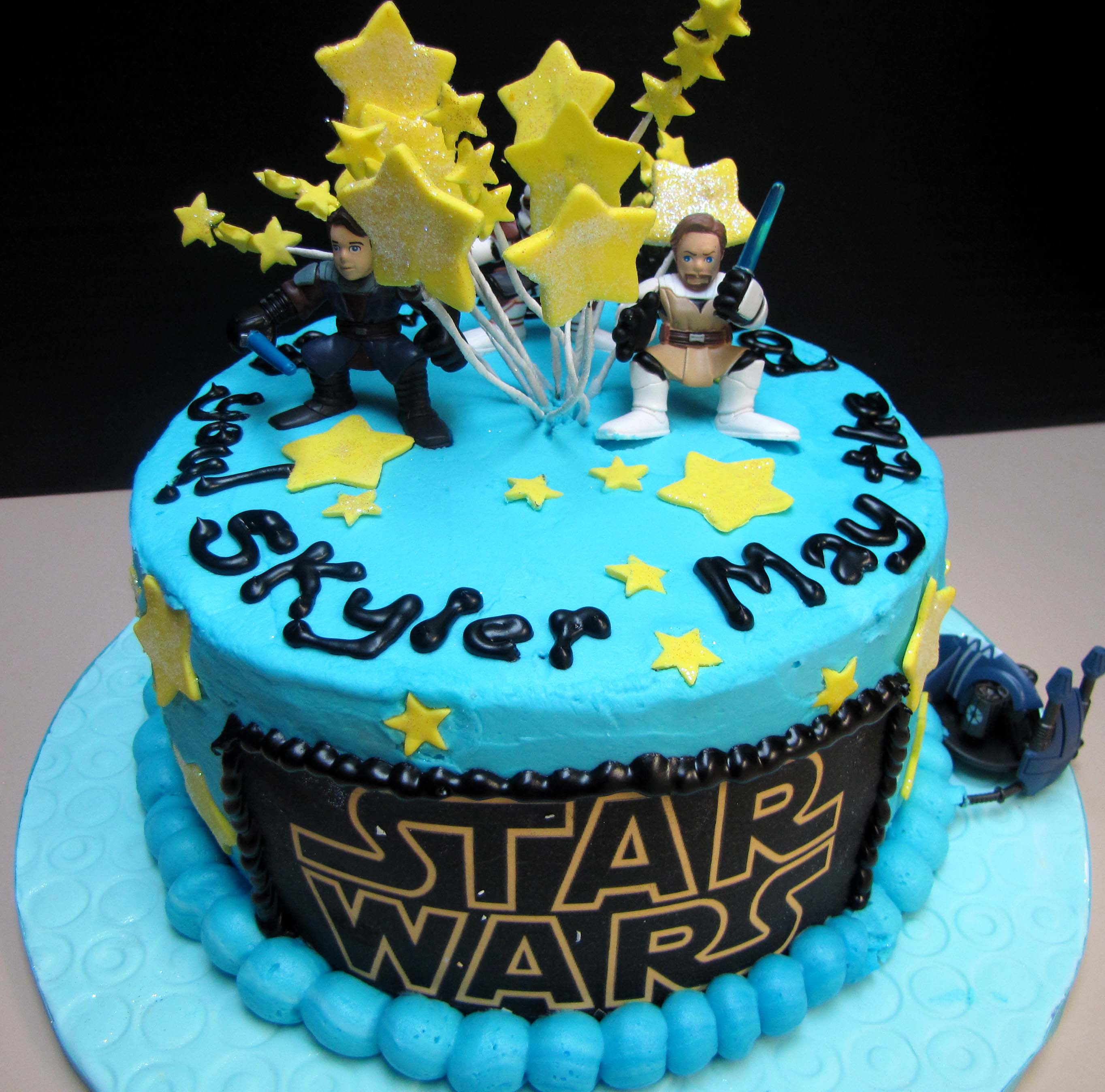 Groovy Birthday Cake Ideas Star Wars The Cake Boutique Birthday Cards Printable Riciscafe Filternl