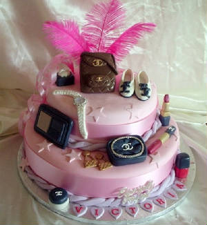 Superb 24 Awesome Birthday Cakes For Girls From 18 To 21 Years Cakes Funny Birthday Cards Online Inifodamsfinfo