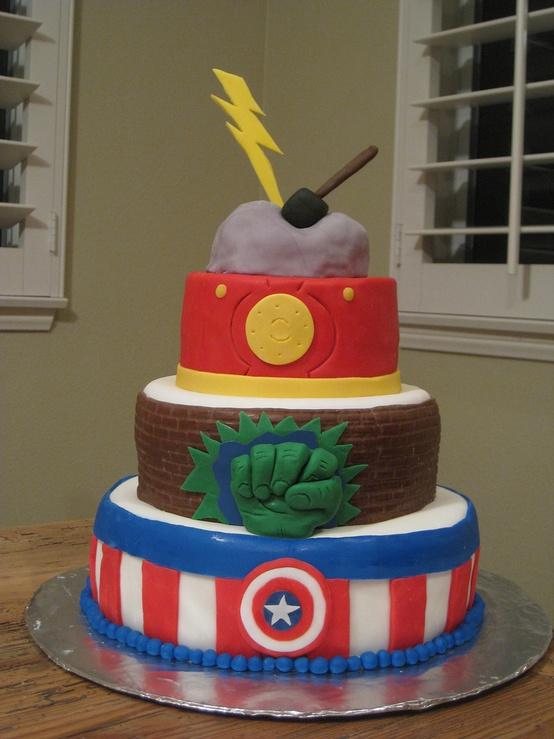Surprising Avengers Birthday Cakes And Cupcakes Cakes And Cupcakes Mumbai Funny Birthday Cards Online Alyptdamsfinfo