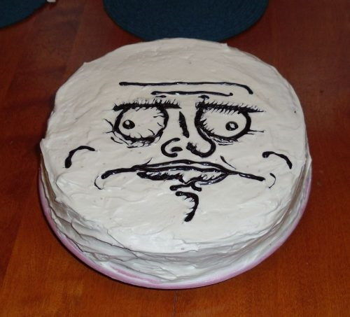 Brilliant Internet Meme And Rage Comics Cakes And Cupcakes Cakes And Funny Birthday Cards Online Fluifree Goldxyz