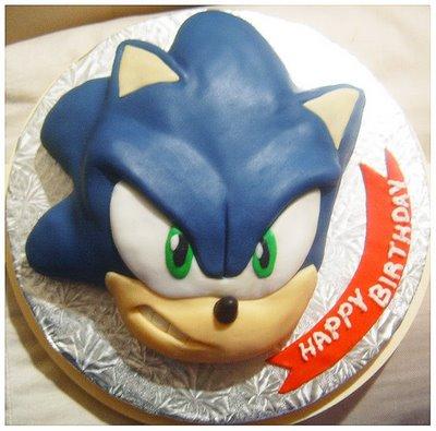Awesome Sonic Hedgehog Video Games Birthday Wedding Cakes Cupcakes Mumbai4 Funny Birthday Cards Online Barepcheapnameinfo