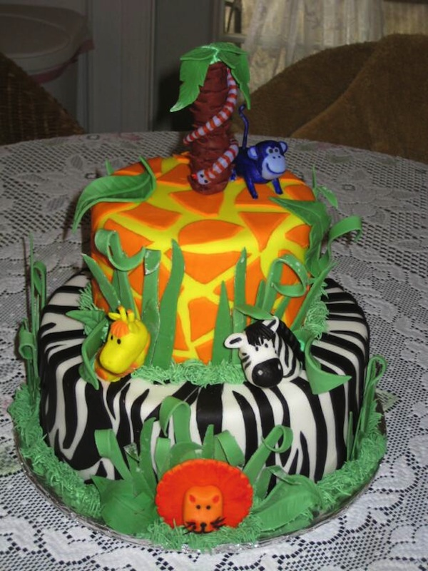 Animal Jungle Theme Cakes Cupcakes Mumbai 23
