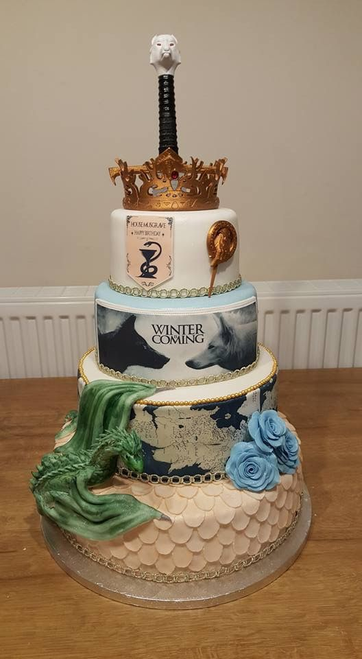 5 Game Of Thrones Themed Wedding Cakes You Need To See