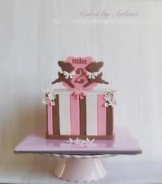Neapolitan deer themed Cake