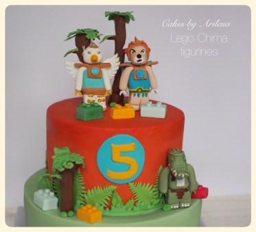 Lego Chima cakes
