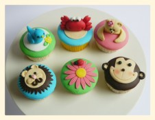 Dieren cupcakes 1,75/stuk
