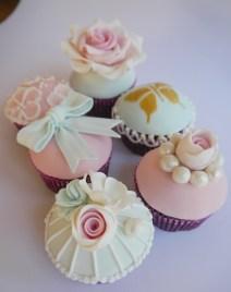 Glamour Vintage cupcakes