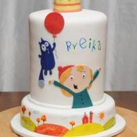 Peg + Cat = Fun Cake!
