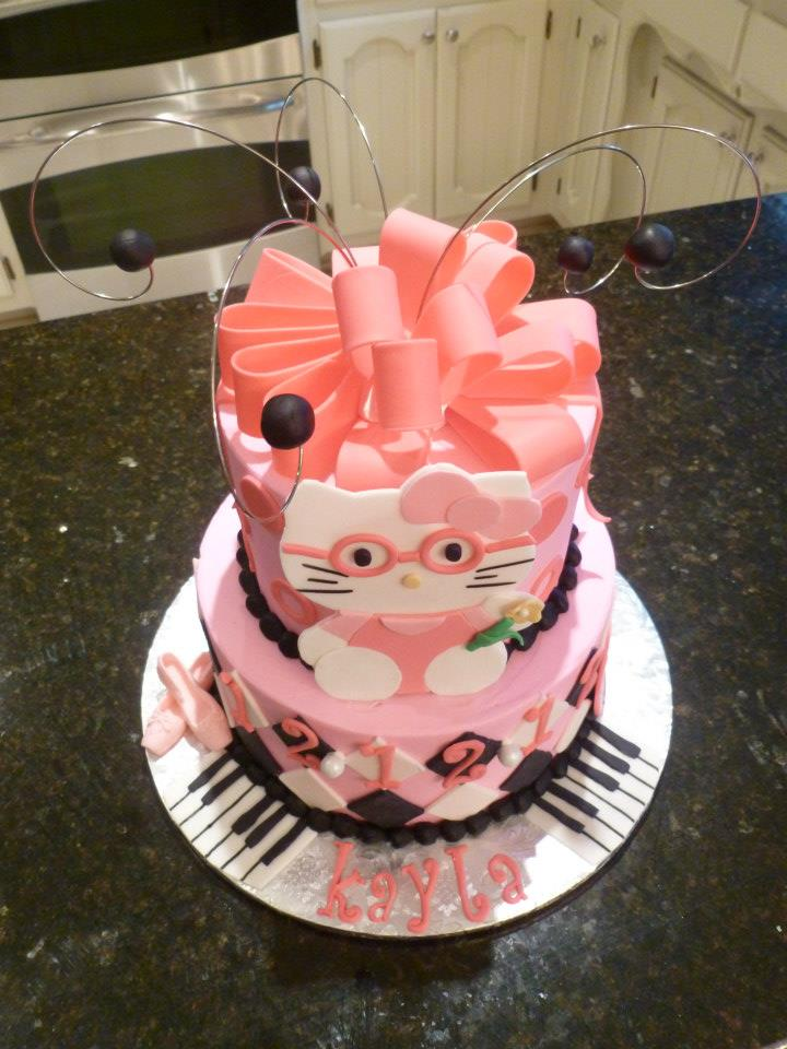 Pink Hello Kitty Cakes By Crystal