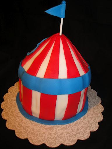 Mini Circus Tent Cake Cakes By Nathalie