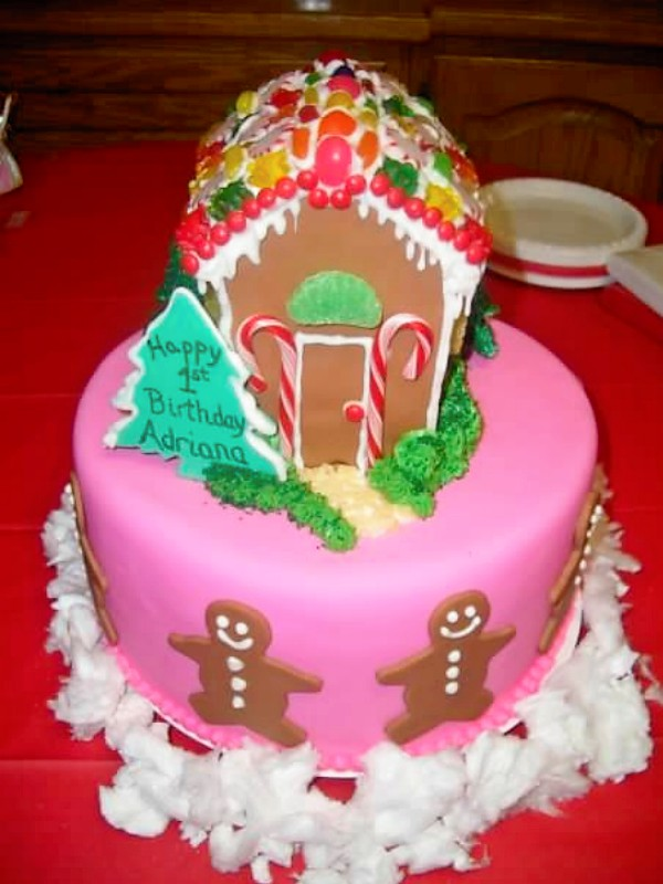 Gingerbread 1st Birthday Cake Cakes By Rosalee And