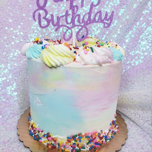 Cakes By Violet Watercolor Cake