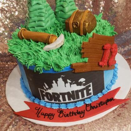 custom_cake_fortnite