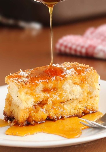 Easy Overnight French Toast Bake recipe