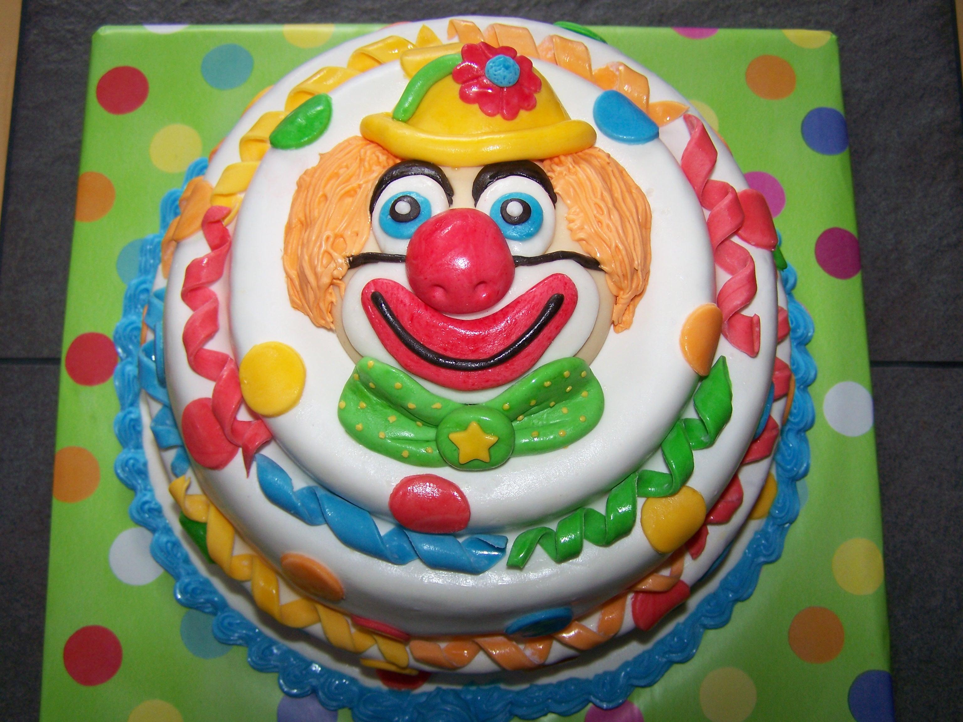 Clown  CAKES FOR FUN
