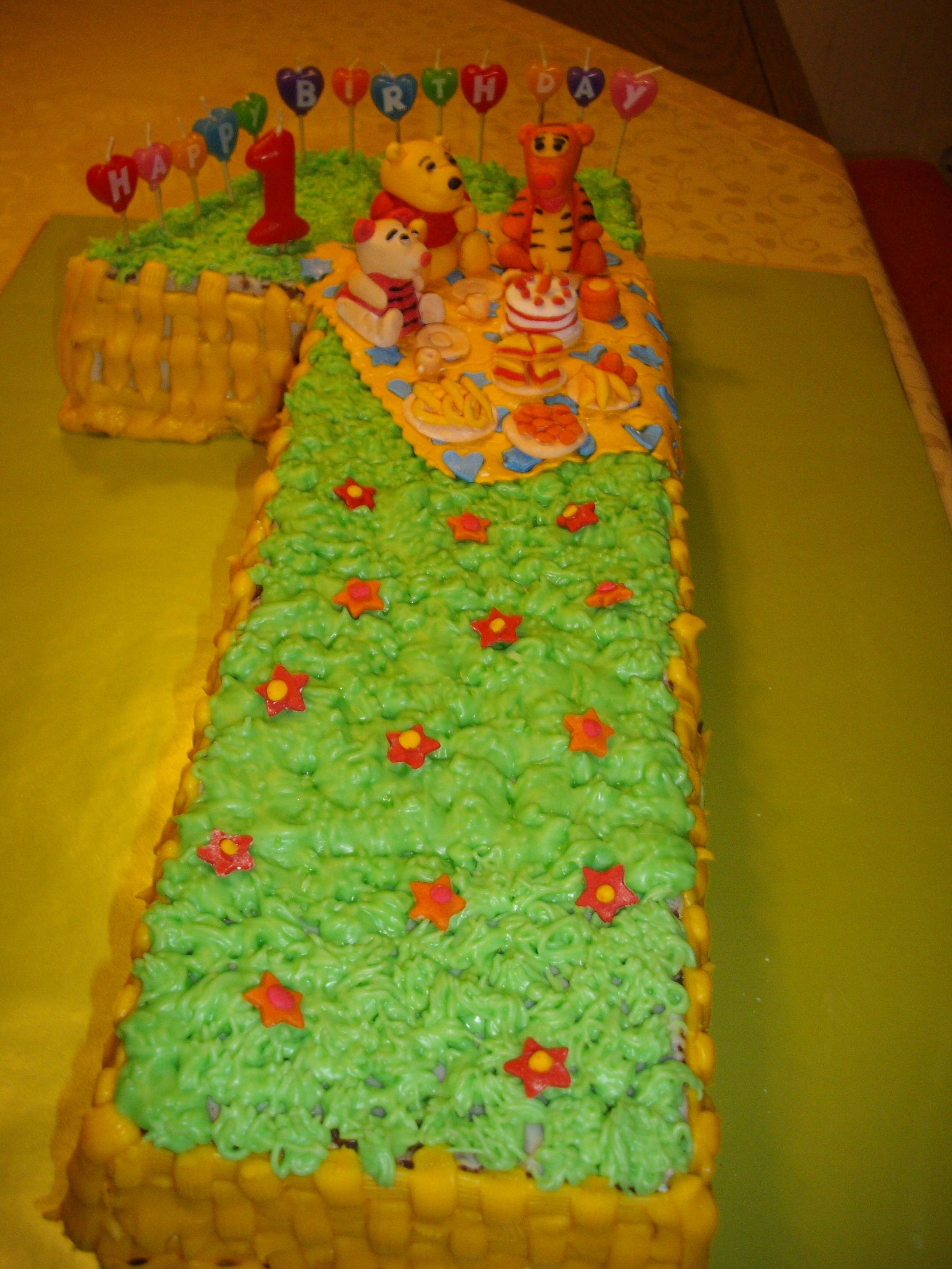 Kindertorte 1 Geburtstag  Rezept torte