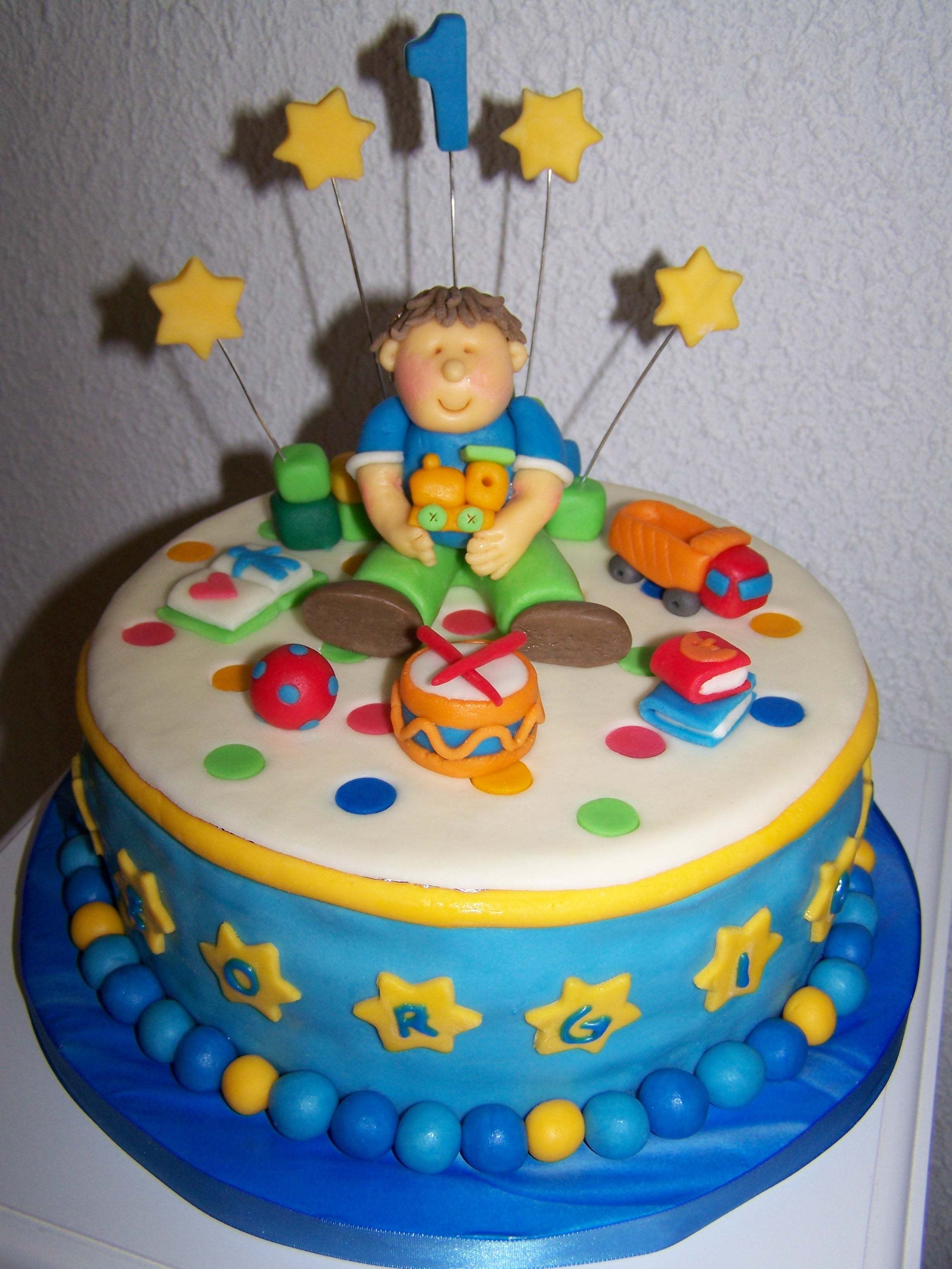 cakesforfuns Blog bei Chefkochde  Geburtstagstorte 1