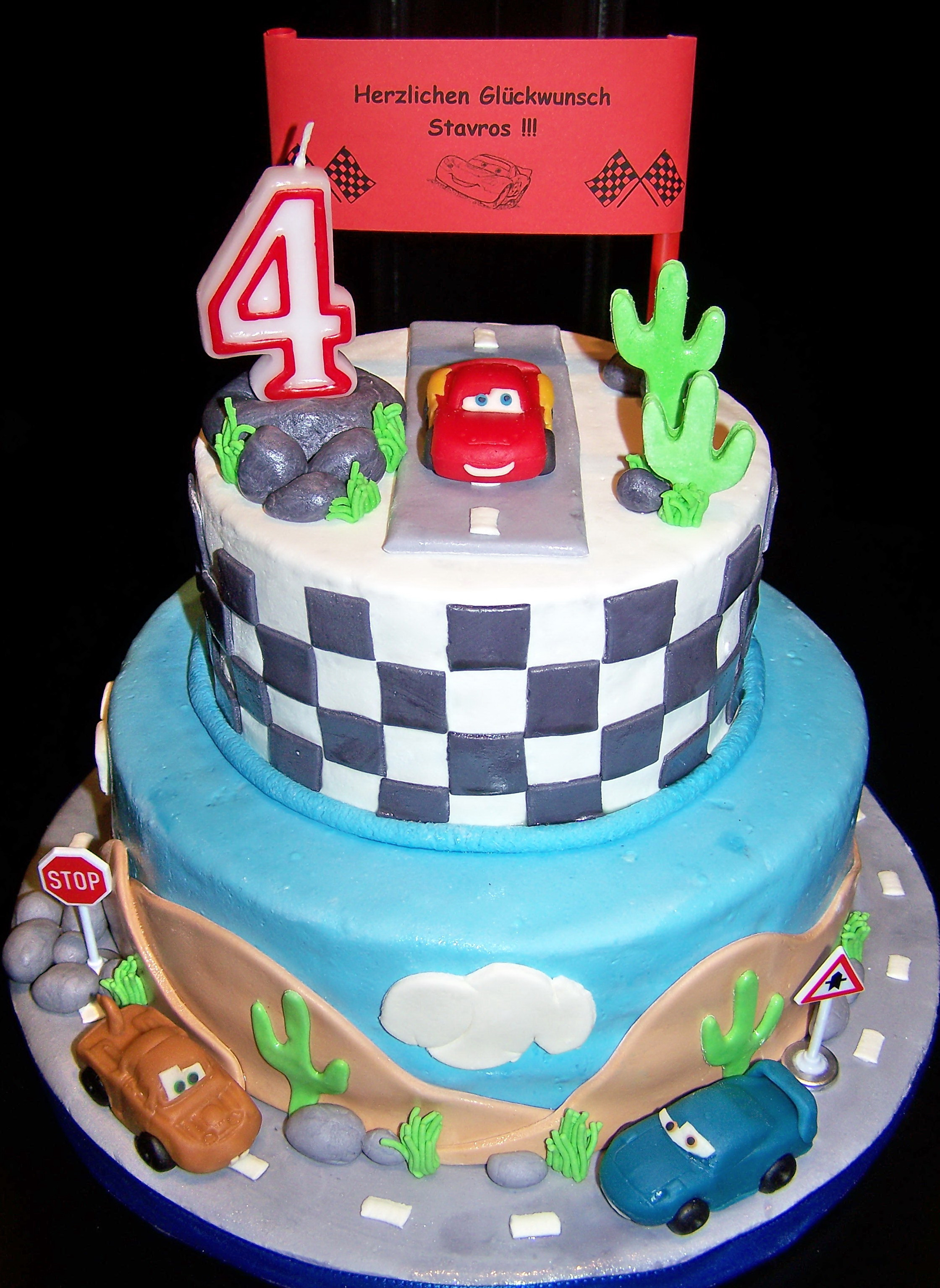 Cars  CAKES FOR FUN