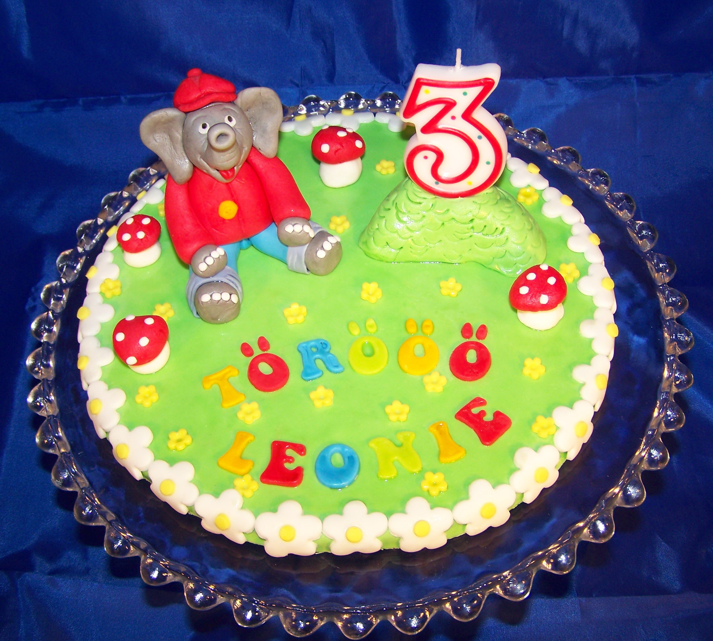 Benjamin Blmchen Cake Topper fr Leonie  CAKES FOR FUN