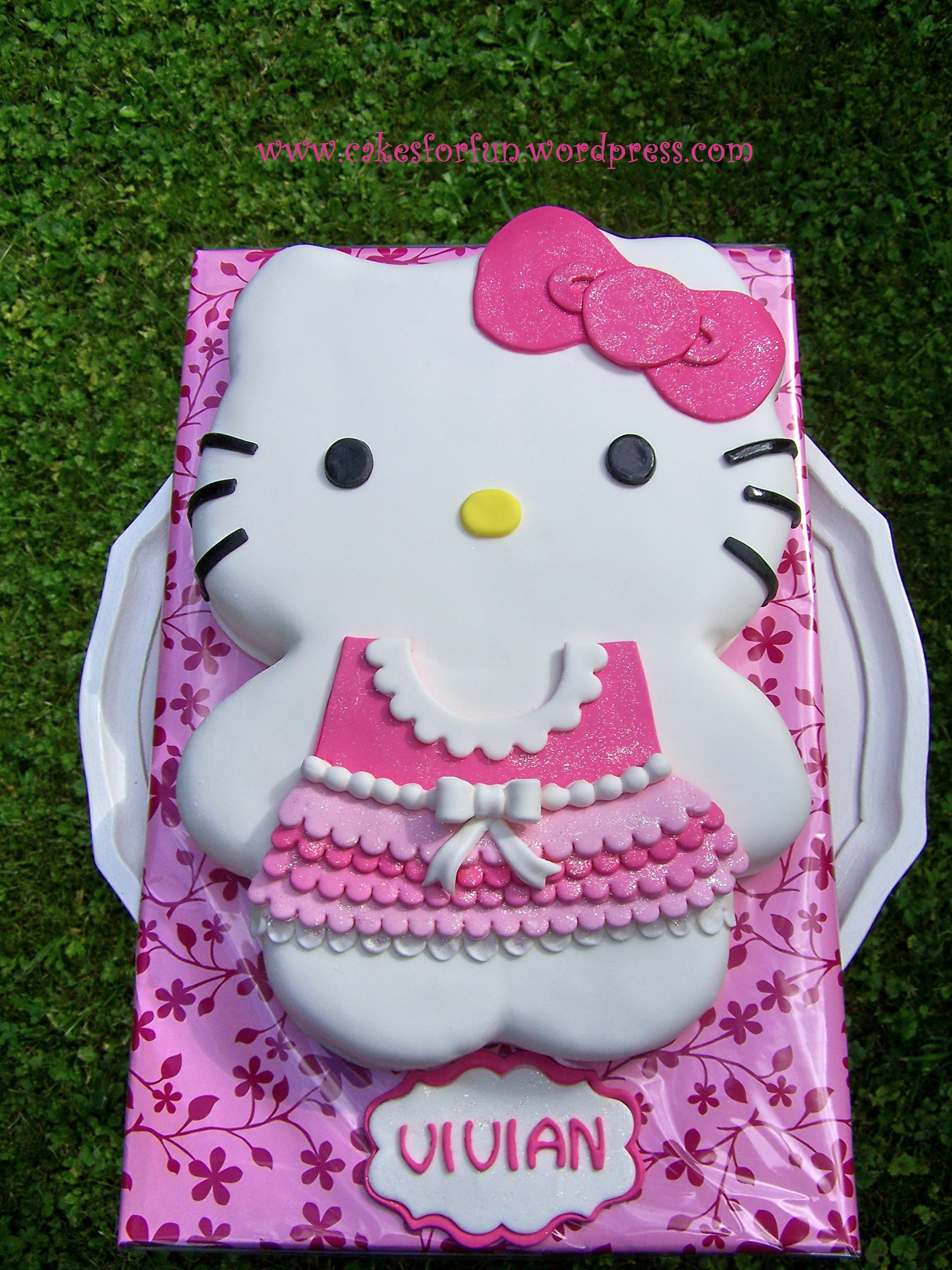 Hello Kitty Kuchen Su S Healthy Living Hello Kitty Cake A