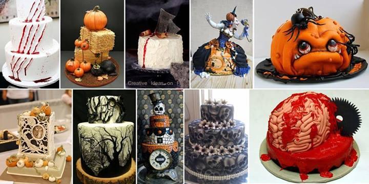 25 Creepy Halloween Cakes