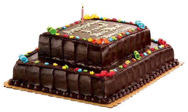 Red Ribbon Birthday Cakes Design Birthday Cake Designs
