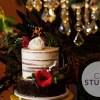 Bolo de chá bar de Fabíola Gadelha, da Record: semi-naked cake decorado com flores de açúcar. Feito por Cake Studio ( contato@cakestudio.com.br   Whatsapp: (11) 96882-2623 )
