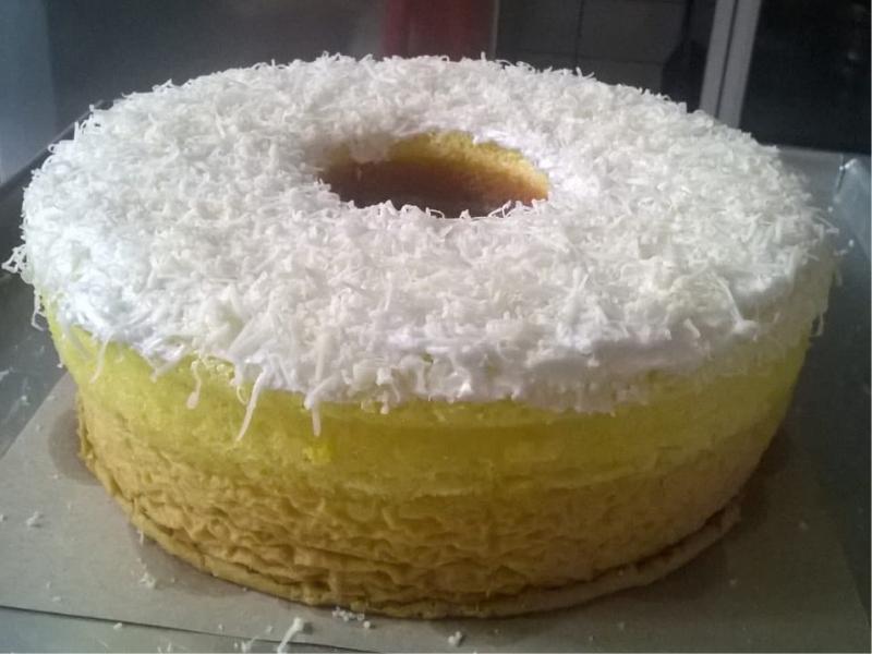 Cake susu topping keju