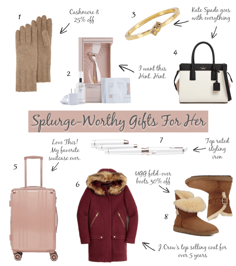 Splurge-Worthy Gifts For Her