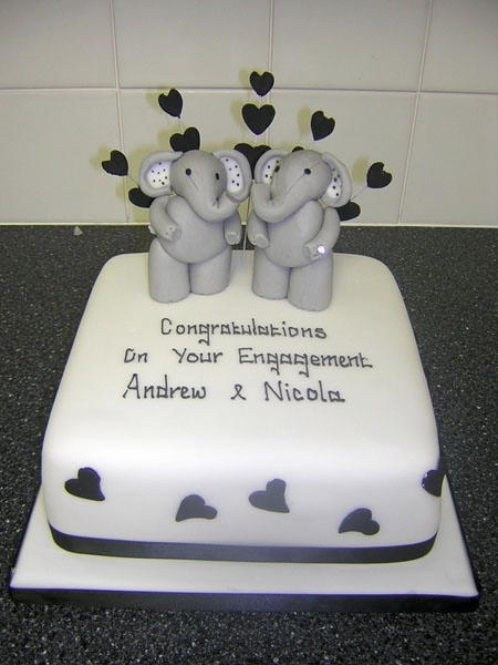 Anniversary  Engagement Cakes  Cake Toppers Redcar