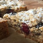 Almond Cake with Blackberries