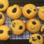 Blackberry Corn Muffins