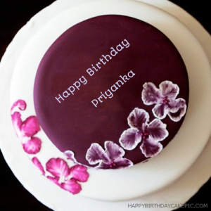 Happy Birthday Cake Images With Name Priyanka The Blouse