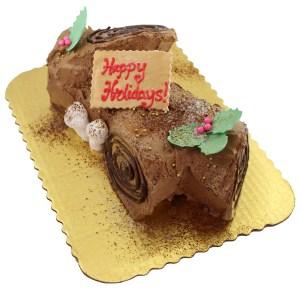 Cake Works Yule Log
