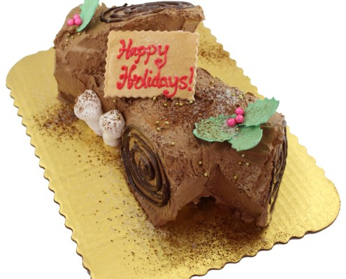 Cake Works Yule Log