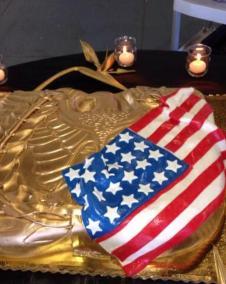 Rising Eagle Cake