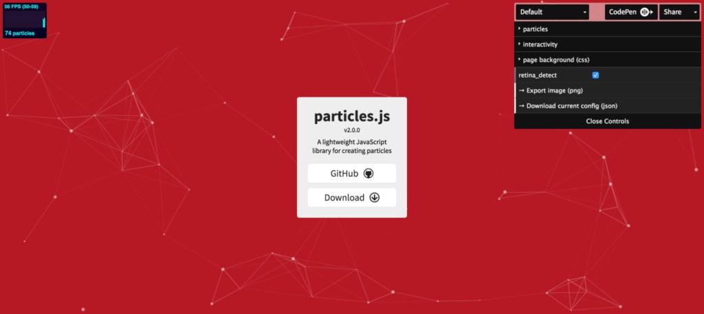 particlejs-default